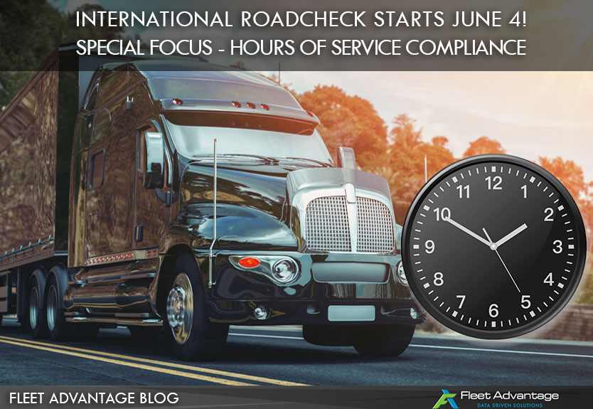 Fleet Advantage Safety Tips - 2018 International Roadcheck HOS